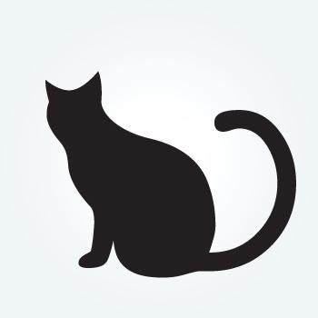 Samolepka kočky 48x40cm